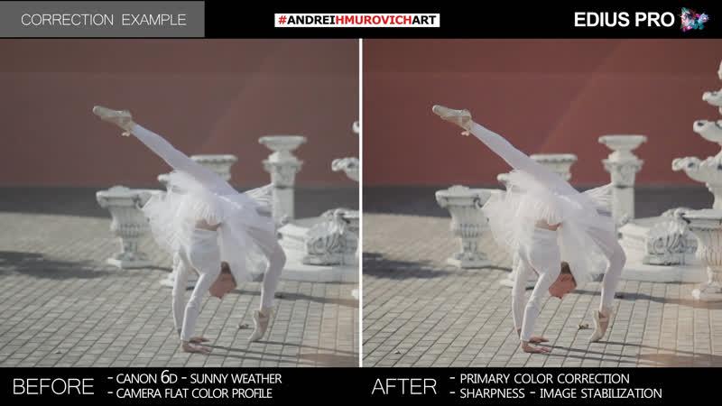 Color correction Example Edius Pro 9