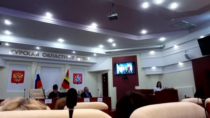 Выступление Валерии Шалимовой