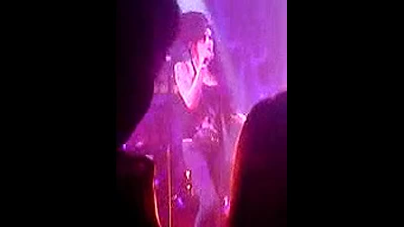 Amy Winehouse Love Is A Losing Game Northumbria University Newcastle UK 26 02 2007