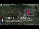 Airport Area Large Eddy Simulation