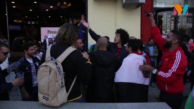 Иностранные болельщики оживили улицу Вайнера в Екатеринбурге