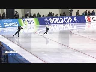 5000m_Men_WC1_Obihiro_2018-2019