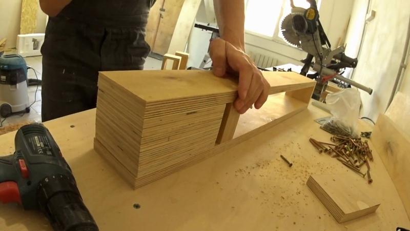 Стол в мастерскую. Часть 2 регулируемые ножки