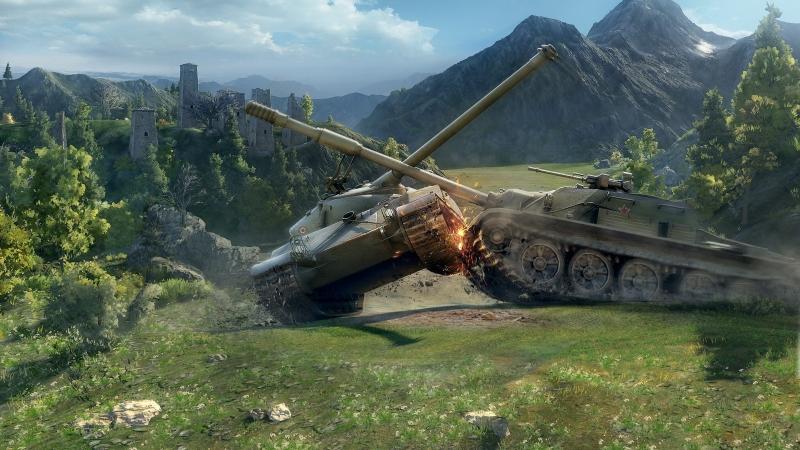Битва миров World of Tanks