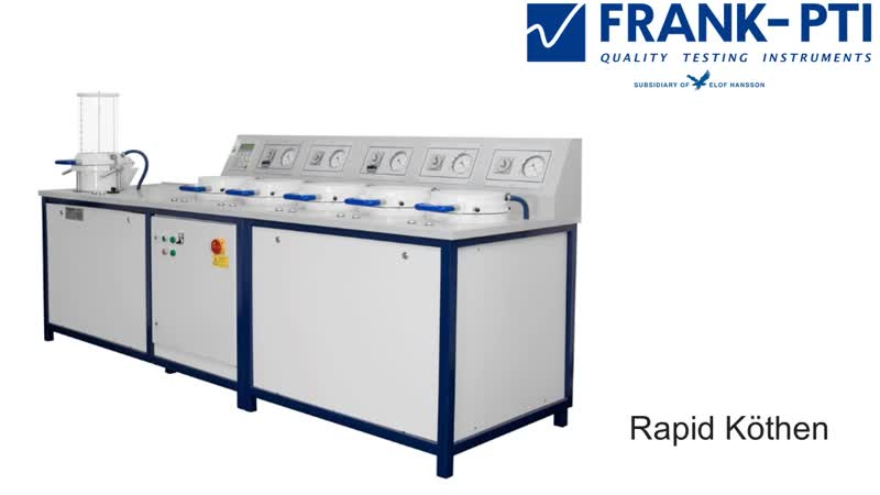 FRANK-PTI-Rapid Köthen Sheet Machine Automatic