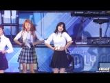 180623 TWICE - Heart Shaker @ Lotte Family Concert (Momo focus)