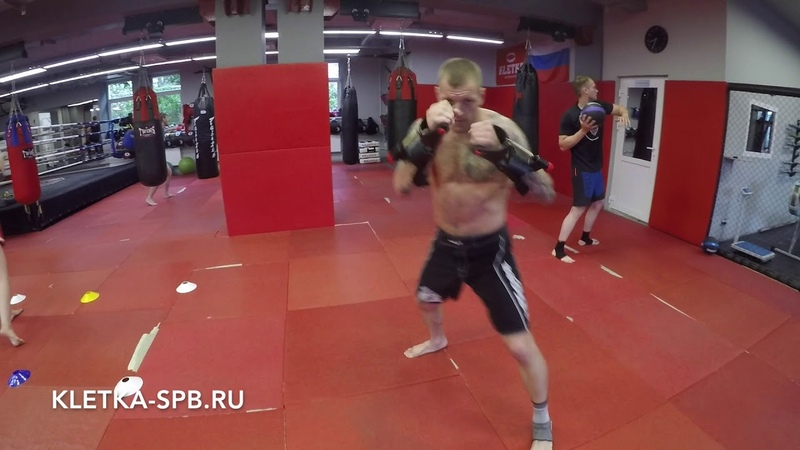 Круговая тренировка для бокса, кикбоксинга, тайского бокса в CK KLETKA Андрея Басынина