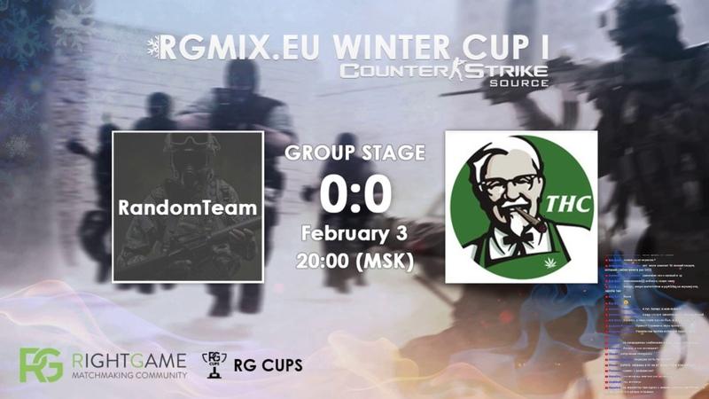 RGMIX.eu Winter Cup 1 [RandomTeam VS I love THC] Group A