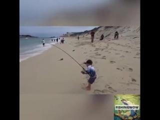 Этот мальчик нашёл своё хобби...