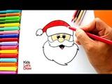 Aprender a dibujar a PAPA NOEL muy f