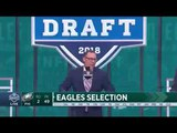 David Akers Completely ROASTS Dallas Fans at the Draft!!
