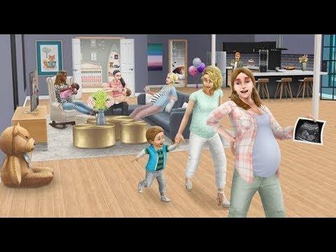 Взлом очков беременности в The Sims FreePlay