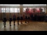 Выступление 8а класса Гимназии на фестивале - конкурсе военно-патриотической песни