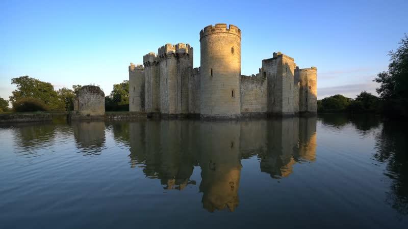 Замок Бодиам Великобритания / Bodiam Castle UK