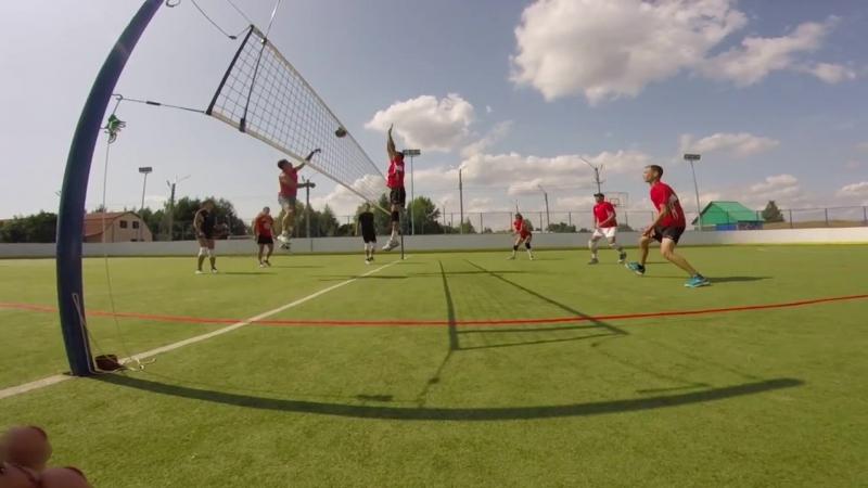 Красный Яр Парковый волейбол