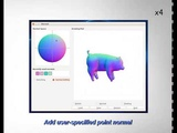 i3D 2018 Interactive sketch-based normal map generation with deep neural networks
