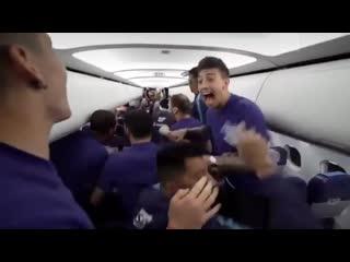 Момент, когда игроки «Зенита» узнали о чемпионстве