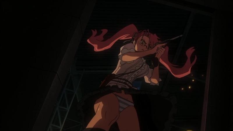 Школа мертвецов(Gakuen Mokushiroku High School of the Dead) -12 END [RUS озвучка] (аниме эротика, этти,ecchi, не хентай-hentai)