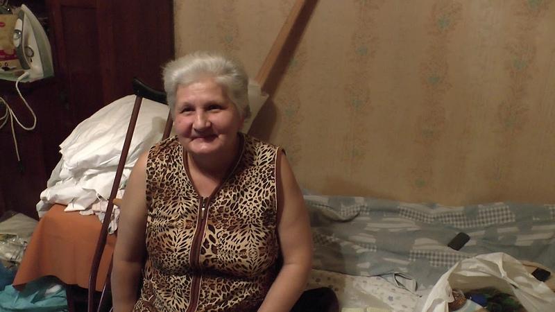 Помощь жительницы Санкт Петербурга пожилой женщине инвалиду
