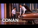 Steven Ho Prepares Conan For Parking Lot Assaults - CONAN on TBS