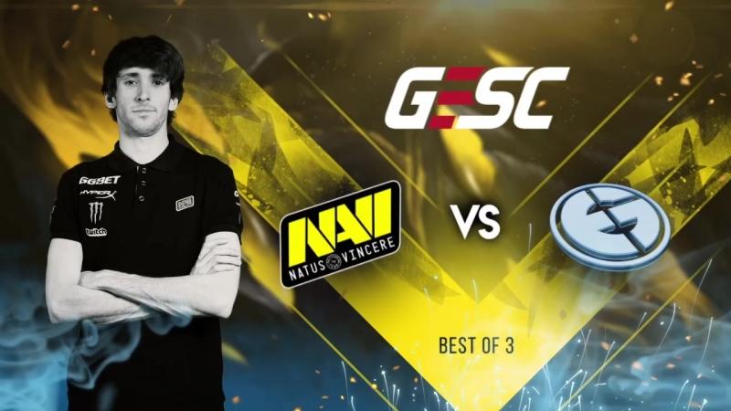 NaVi vs EG @GESC:Indonesia