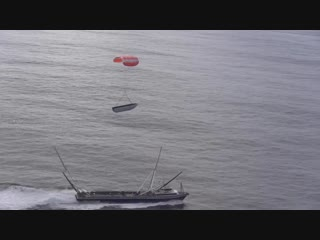 One of Mr. Steven's final West Coast fairing recovery tests