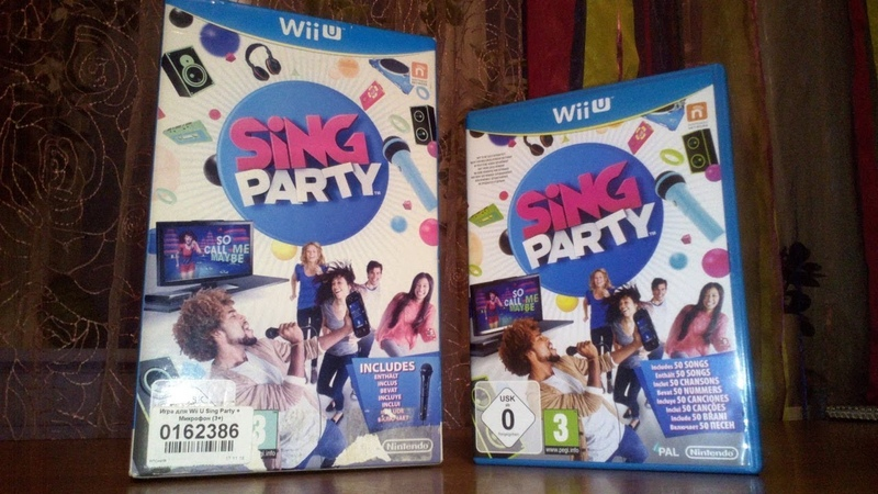 Распаковка игры Sing Party Микрофон для Nintendo Wii U