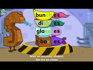 Nessy Spelling Strategy  Plurals -s -es