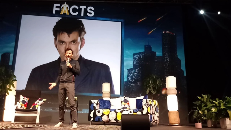 David Tennant at FACTS, Ghent 29.9.2018