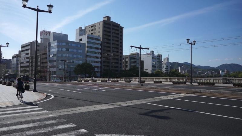 Япония - Хиросима - Т-образный мост