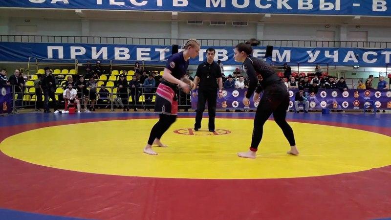 Всероссийский турнир UWW 20 05 2018 No Gi 71 Ремнева Анна VS Джоджуа Лиана