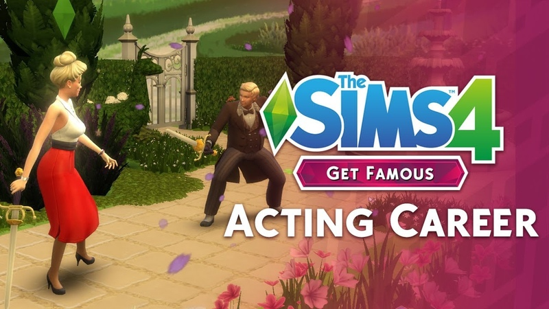 The Sims 4 Путь к славе — Карьера Актера от TheSimCommunity