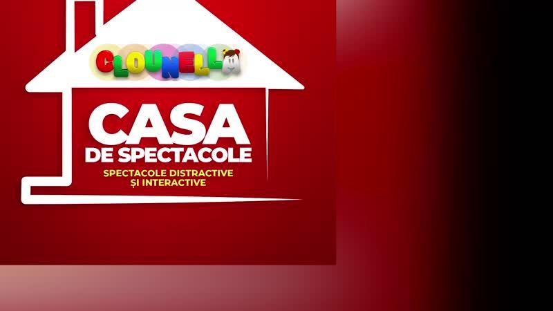 Spectacol de Animație pentru Copii Aventurile celor Trei Purceluși la Cricova pe 26 octombrie ora 17 30