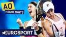 Petra Kvitová vs Ashleigh Barty Highlights Australian Open 2019 Quarter-Finals Eurosport