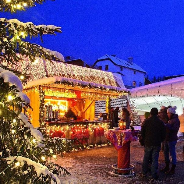 Петербург: католическое Рождество и Новый год в Австрии