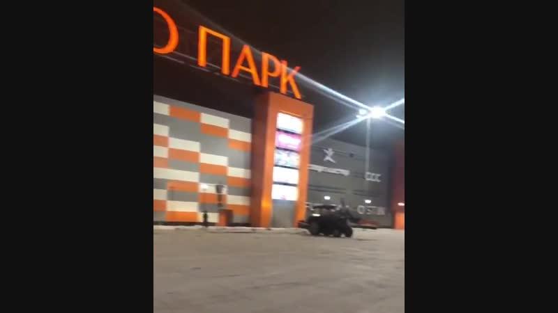 ТРЦ Пушкино Парк перед открытием.