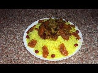 Плов со сладкой подливой / Азербайджанская кухня