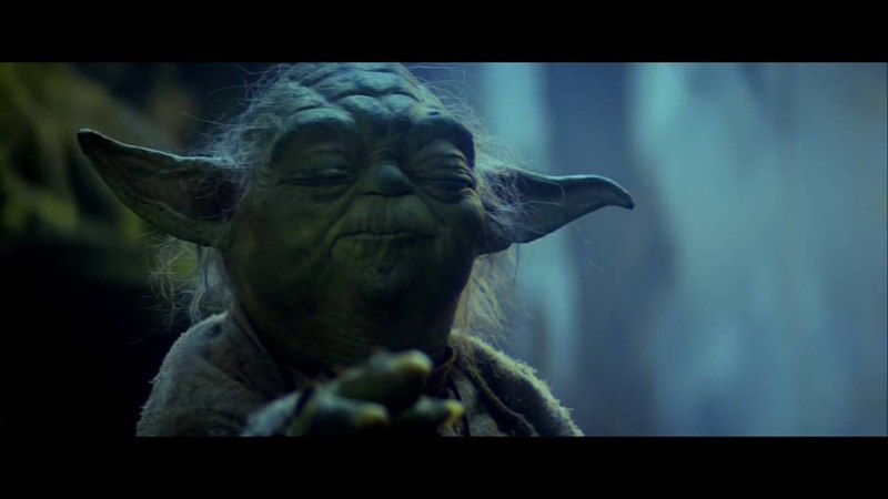 Yoda Lifts X Wing From Dagobah (Re Scored by Zachary Seif)