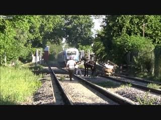 C n n( mass-media & video)📹 - почти потерял свою задницу train very close call