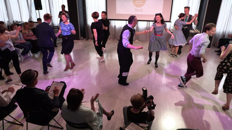 Shag Open Strictly First All Skate at Russian Swing Dance Championship 2018