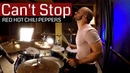 Red Hot Chili Peppers CAN'T STOP Drum Cover (High Quality Audio) ⚫⚫⚫