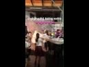 Video di Gigi nel backstage della sfilata di Moschino SS19 a Milano 20.09 MFW 4