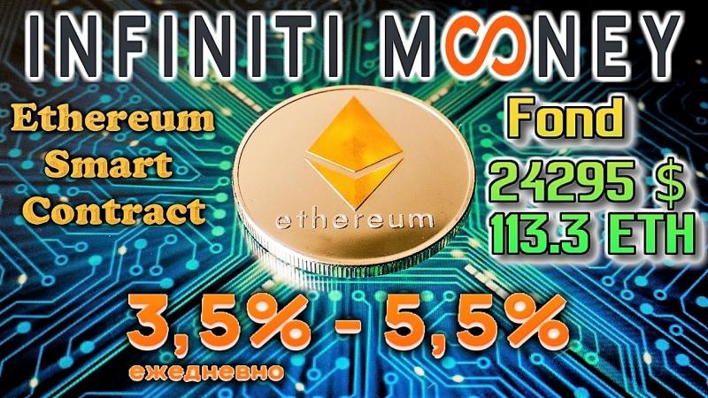 🏆INFINITI MONEY - Ethereum Smart Contract Статистика.Сравнение.Реинвест и Вывод