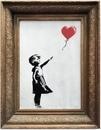 Картина Бэнкси самоуничтожилась встроенным в раму шредером сразу после продажи на аукционе…