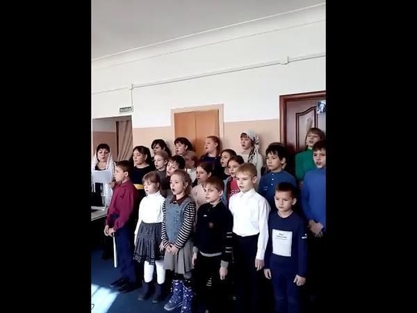 Рождественский концерт в доме престарелых. ч.3