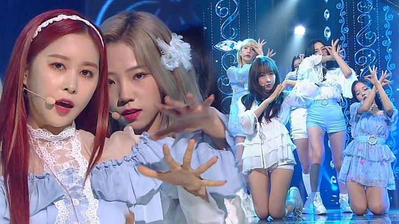 WJSN(우주소녀) - SAVE ME, SAVE YOU(부탁해) @인기가요 Inkigayo 20181014