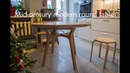 DIY Mid-century modern round table DIY круглый стол в стиле модерн