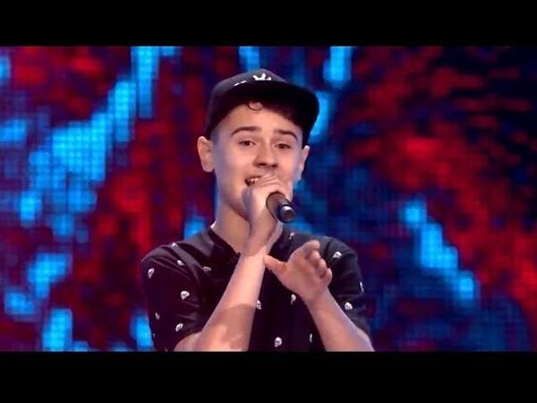 """Michał Szczurek - King"""" - Przesłuchania w ciemno - The Voice Kids 2 Poland"""