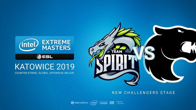Spirit vs Furia - IEM Season XIII - Katowice Major 2019 - map2 - de_nuke [CrystalMay SSW]