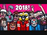 Михакер 👍 Garrys Mod Смешные моменты (перевод) - ЛУЧШЕЕ ЗА 2018 ГОД. ЧАСТЬ 1 (Гаррис Мод)